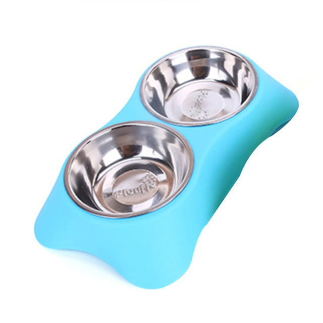 Stainless Steel Dog Bowl Set