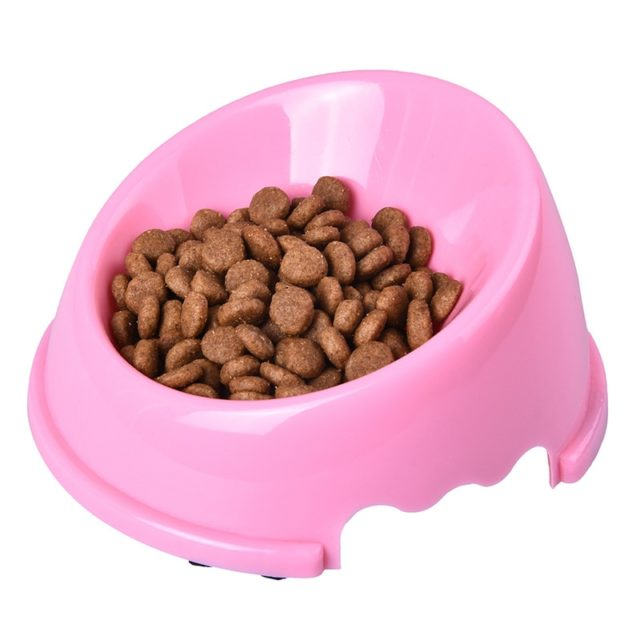 Fashion Universal Non-Slip Plastic Feeding Bowl