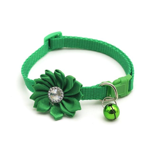 Cute Floral Adjustable Collar for Pets