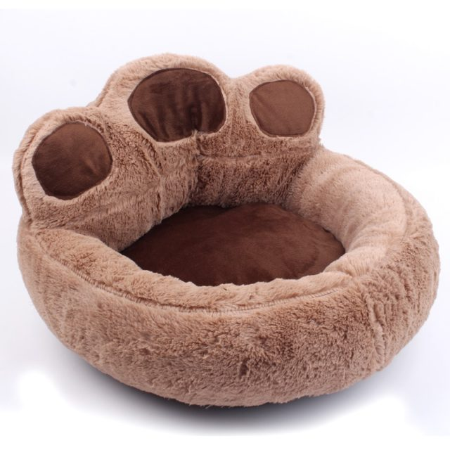 Dog's Paw Shaped Bed