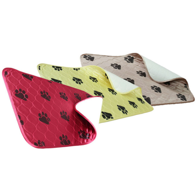 Waterproof Dog's Mat with Dog Paws Print