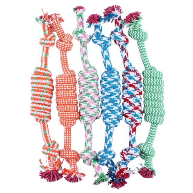 Braided Bone Knot for Dog