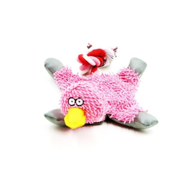 Funny Fluffy Duck Plush Dog's Toy