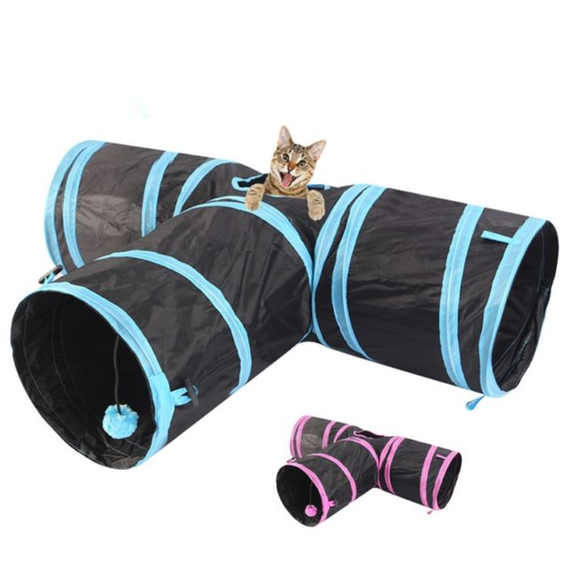 Cat's Tunnel Foldable Toy