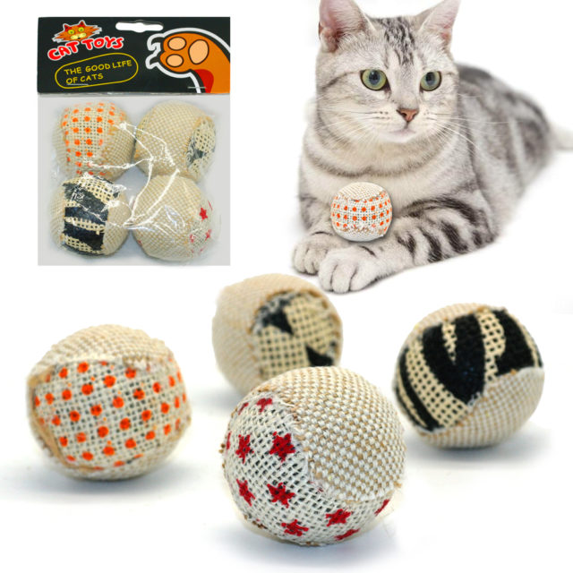Cat's Scratching Toys Set