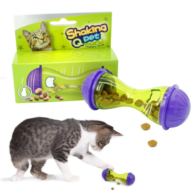 Interactive Treat Toy For Cats