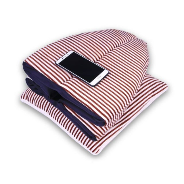Pet's Soft Striped Bed