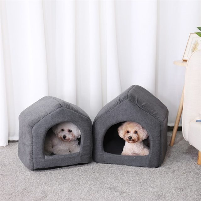 Pet's House Shaped Bed