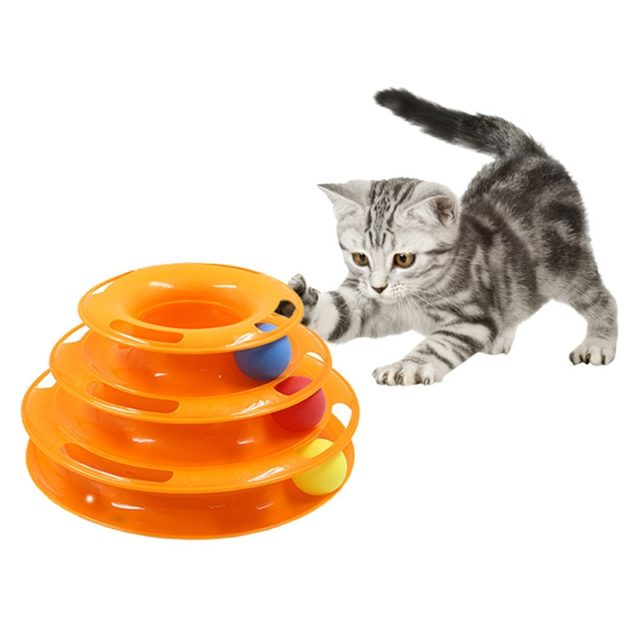 Three Levels Tower Cat's Toy
