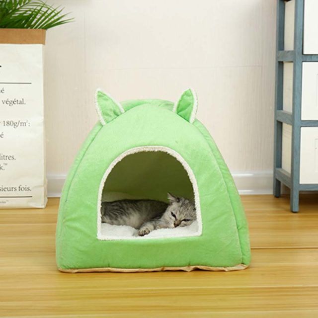 Cat's Foldable Indoor House