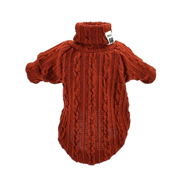 Dog's Knitted Warm Sweater