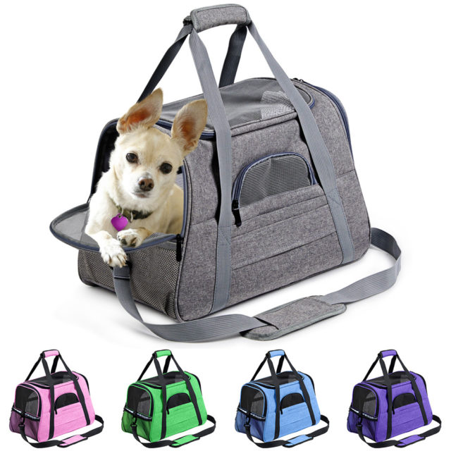 Pet's Waterproof Plain Nylon Bag