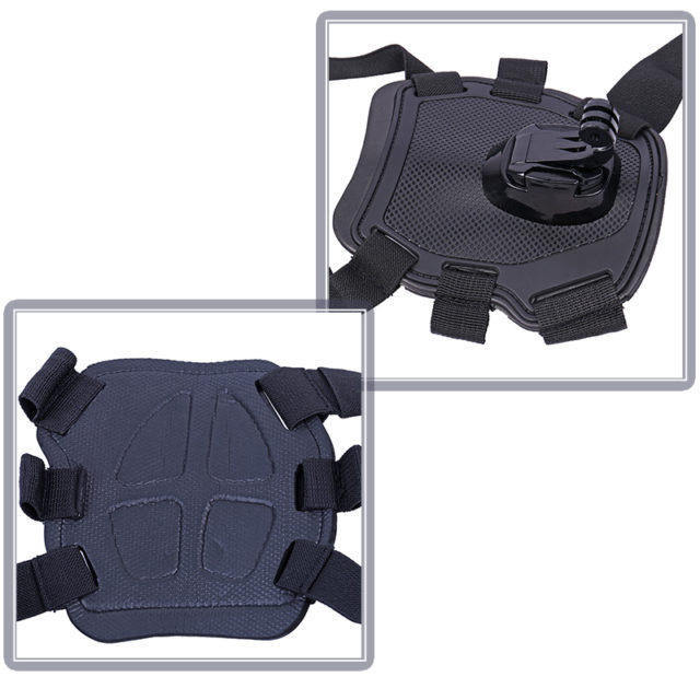 Nylon Waterproof Chest Mount for Dogs