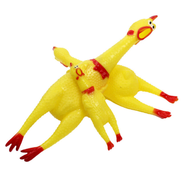 Squeaking Chicken Funny Dog's Toy