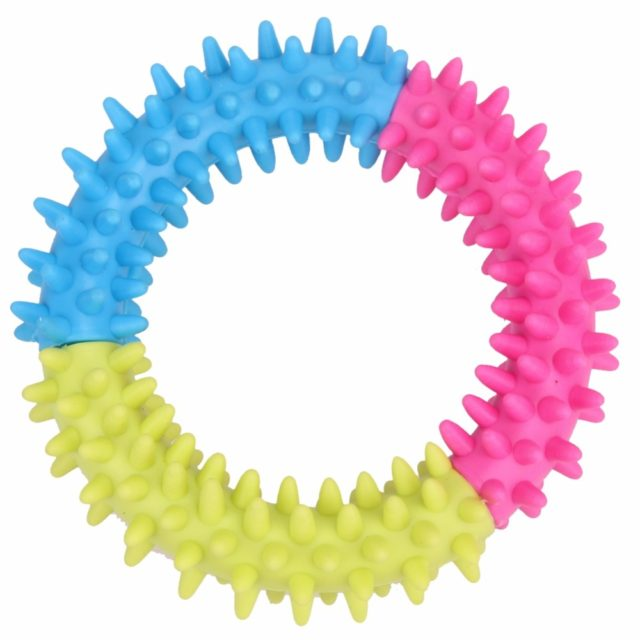 Rubber Ring with Spikes for Dogs