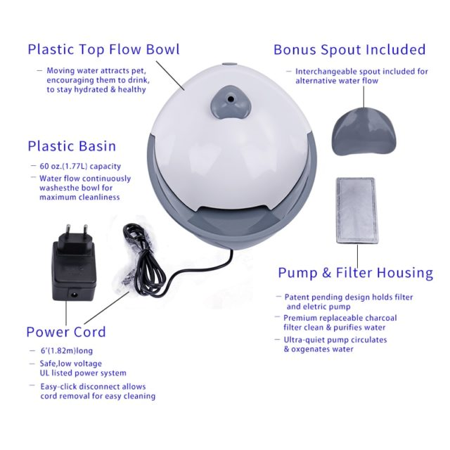 Pet's Automatic Water Bowl