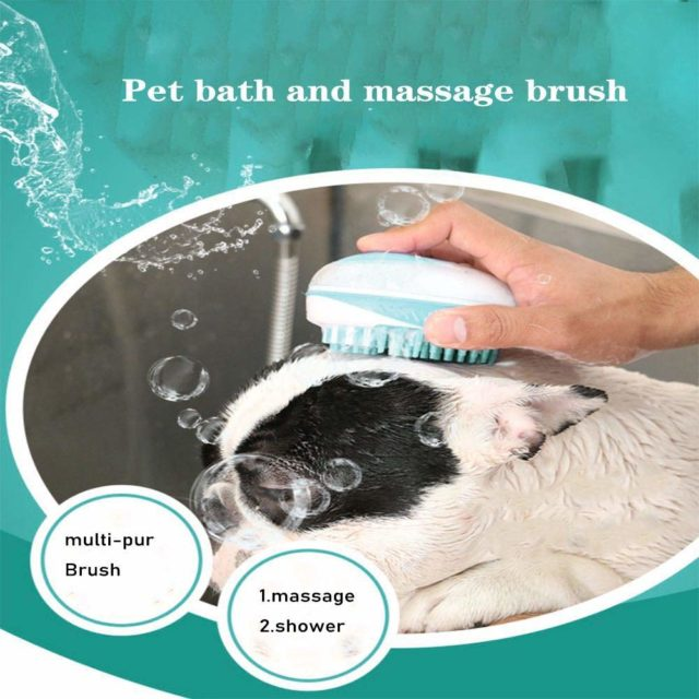 Pet's Plastic Shower Brush