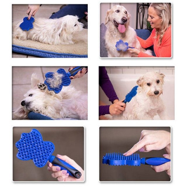 Pet's Blue Hair Removing Brush
