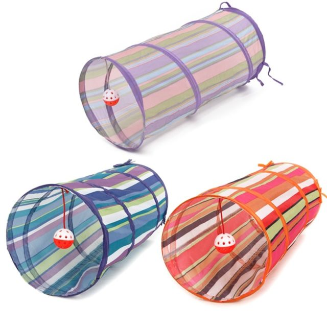 Collapsible Cats Tunnel