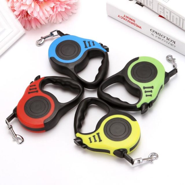 3M/5M Retractable Dog Leash Automatic Flexible Dog Puppy Cat Traction Rope Belt Dog Leash for Small Medium Dogs Pet Products
